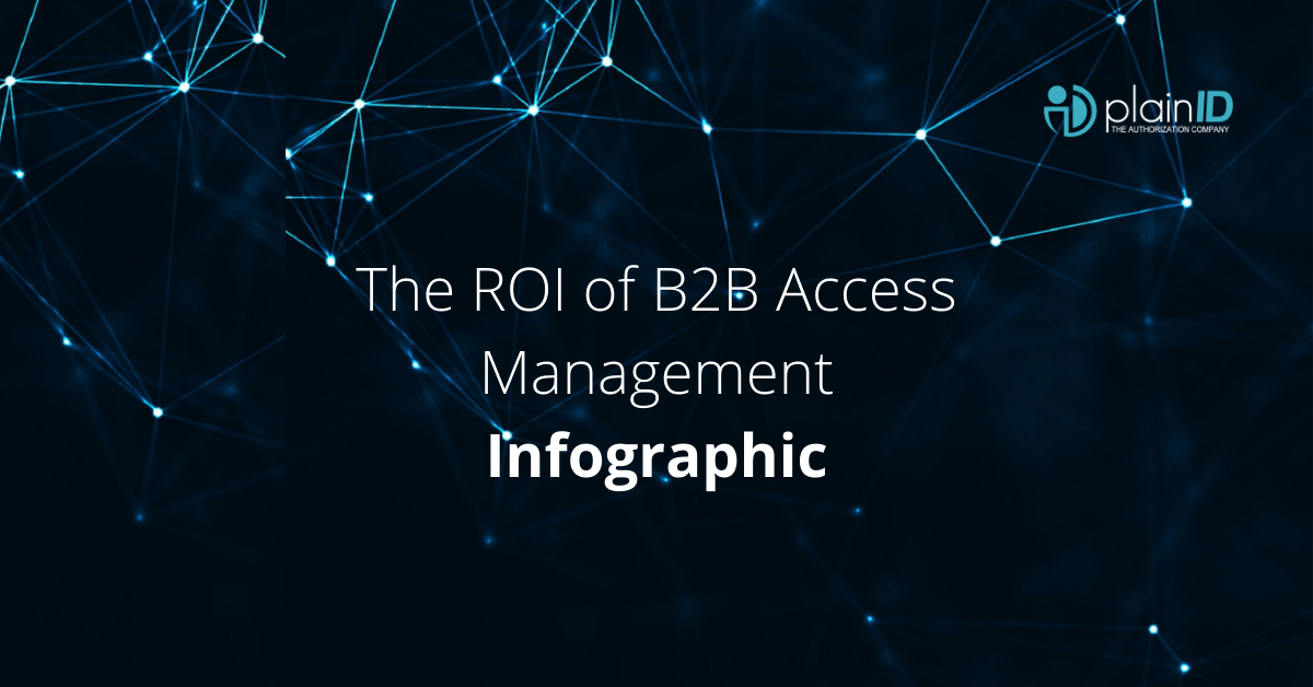 The ROI of B2B Access Management | Infographic