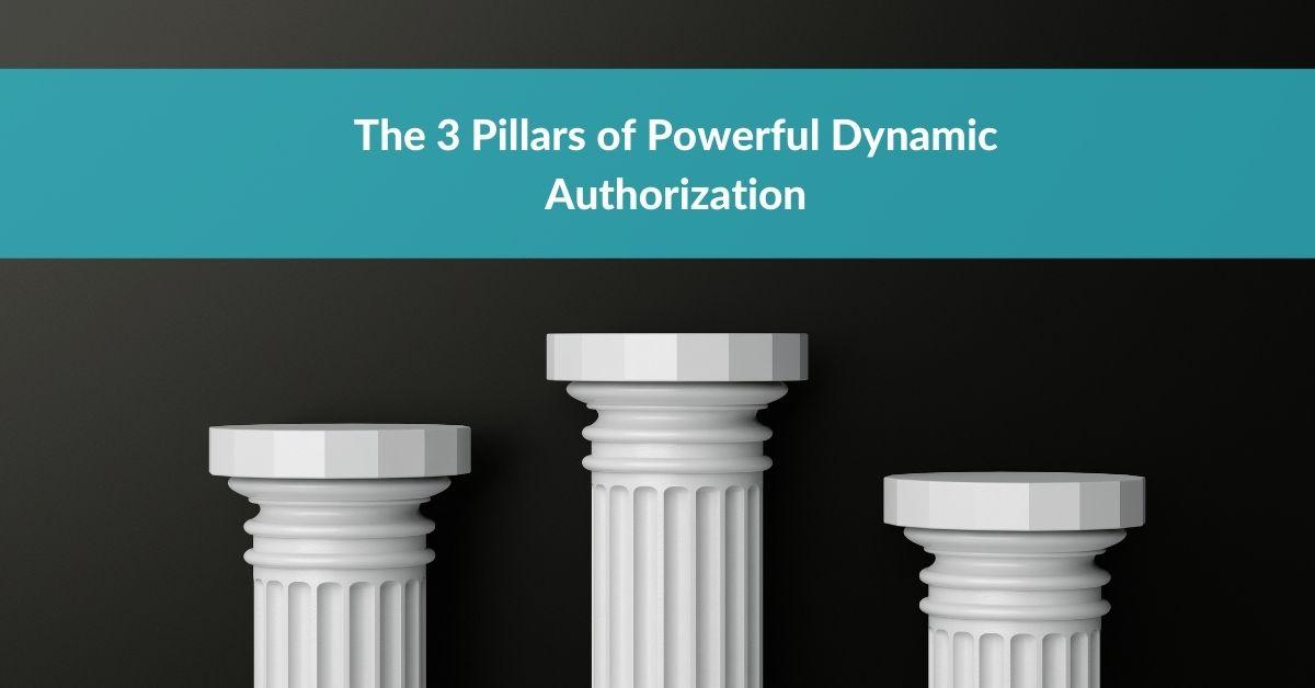 The 3 Pillars of Powerful Dynamic Authorization